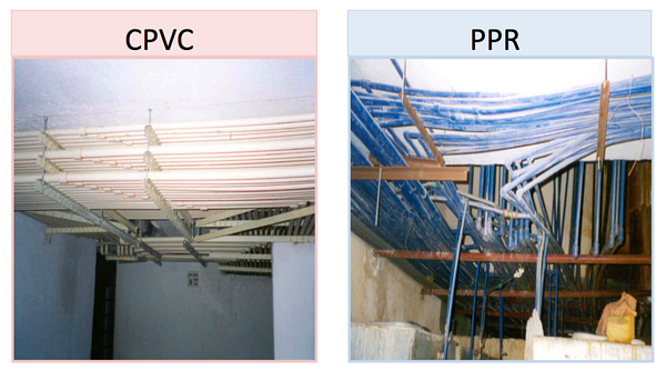 CPVC and PPR strength and hangers
