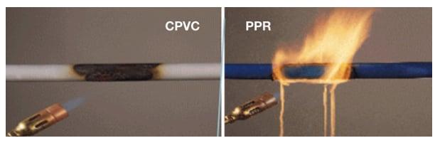 Fire Safety - CPVC VS PPR - Why CPVC - FlowGuard