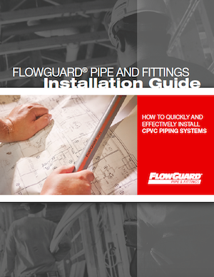 FlowGuard CPVC Installation Guide Cover