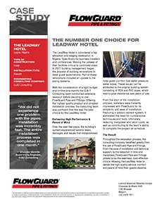 Downloadable case study: LeadWay Hotel