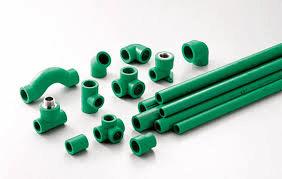 plastic pipe in building industry