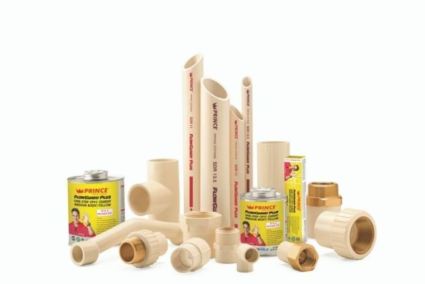 prince cpvc pipes partners with lubrizol to produce prince flowguard plus pipes