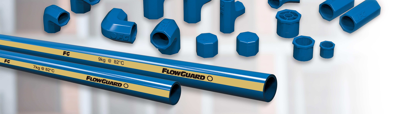 Tubería y Conexiones FlowGuard® Seleccionadas para una Instalación que Ahorra Tiempo y un Rendimiento Confiable