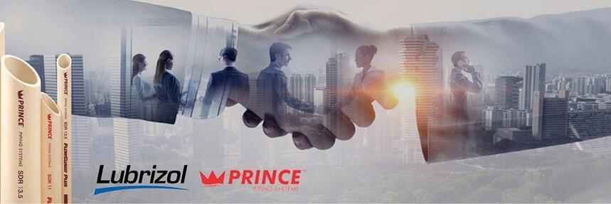 Lubrizol Partners with Prince Pipes to further their vision of delivering clean water across India